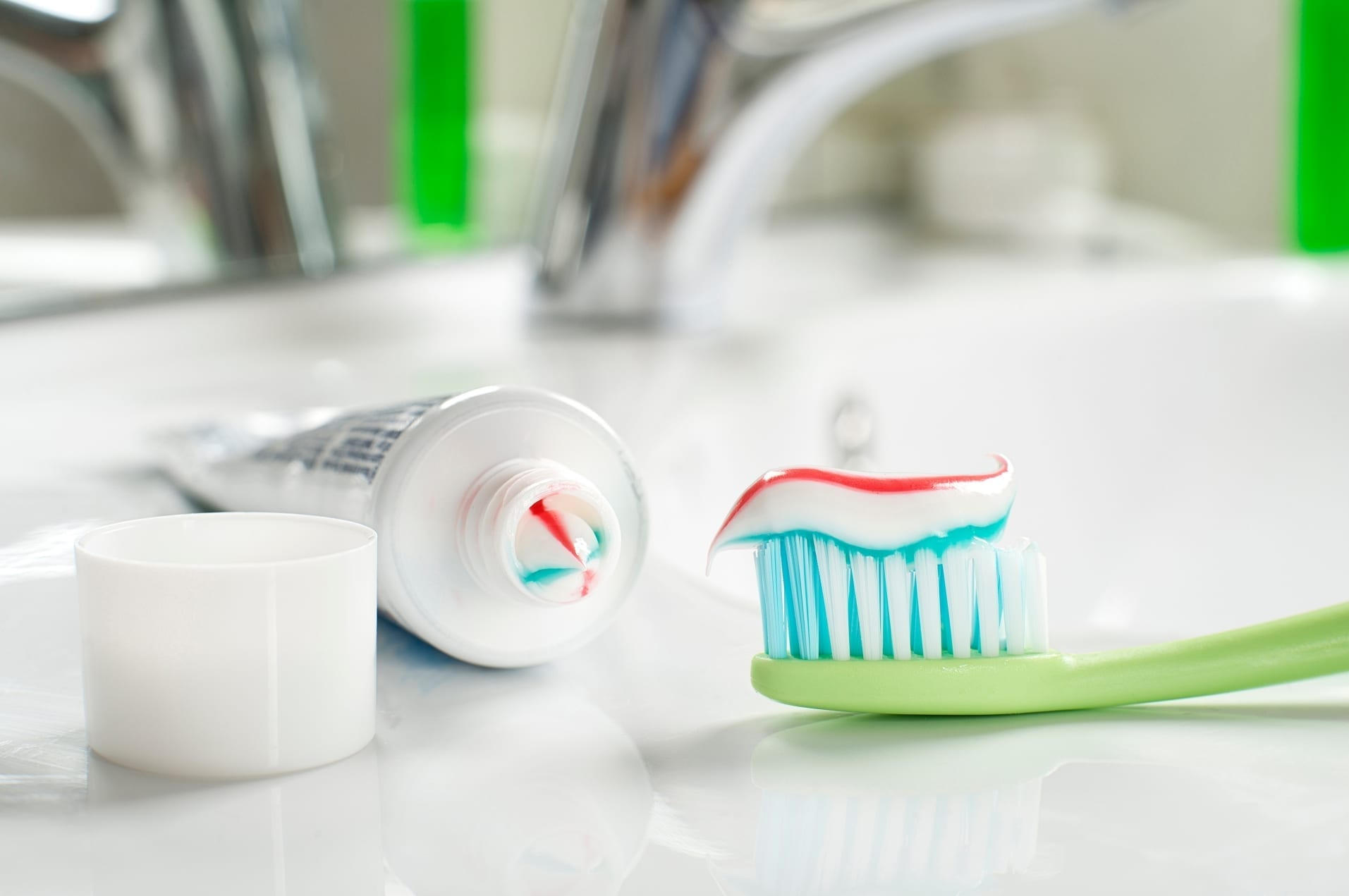 fluoride in toothpaste